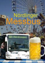 Bus zur Mess und wieder nach Hase, Messbus der Firma Schwarzer, Nördlingen
