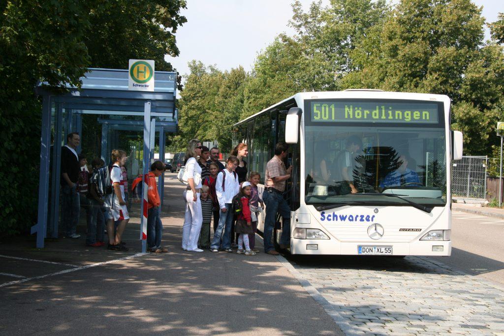 Schülerverkehr im Landkreis Donau-Ries