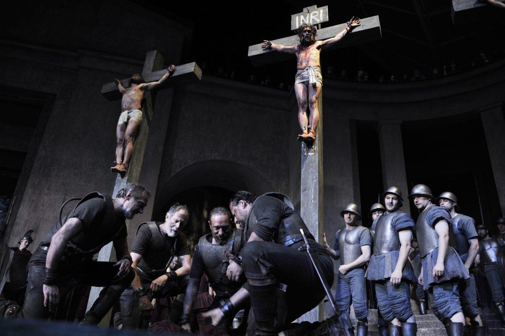 Kreuzigungsszene Passionsspiele