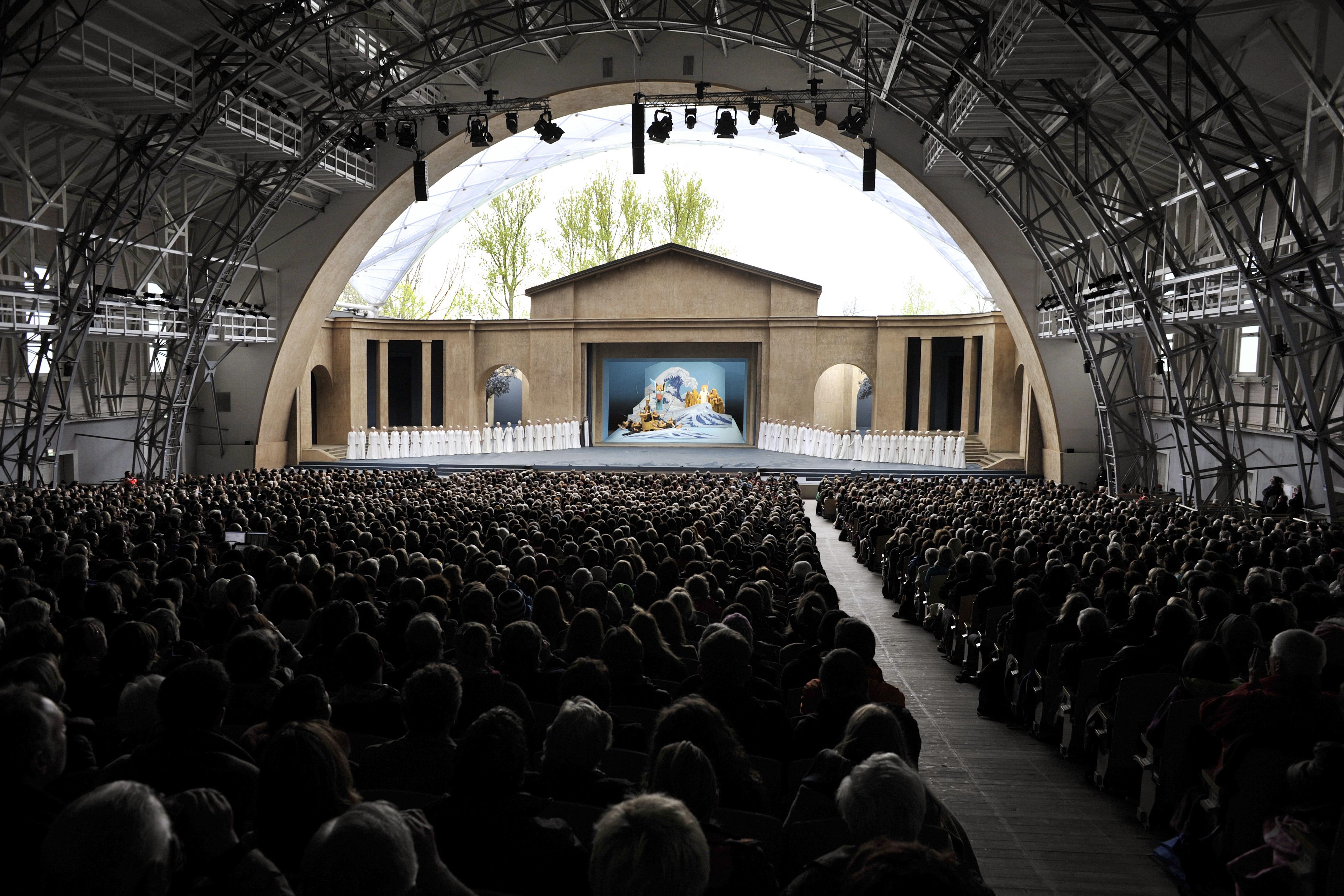 Theaterhalle Passionsspiele Oberammergau